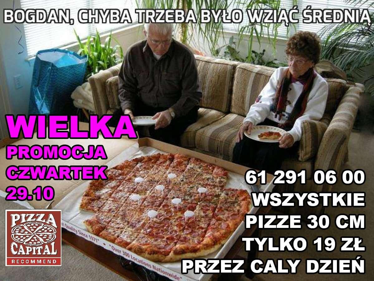 Czwartkowa Promocja wPizza Capital