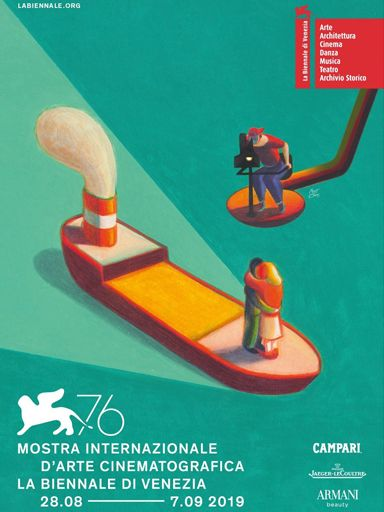 2019 Venice Film Festival Poster