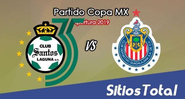Santos vs Chivas en Vivo – Copa MX – Miércoles 6 de Noviembre del 2019