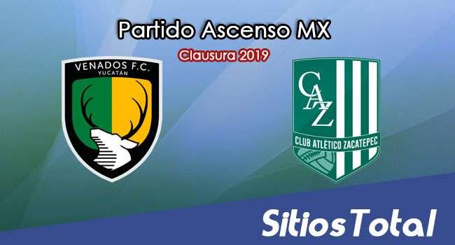 Ver Venados vs Atlético Zacatepec en Vivo – Partido de Ida – Cuartos de Final – Ascenso MX en su Torneo de Clausura 2019