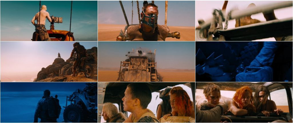 Download Mad Max Fury Road English 1080p Bluray 1.8Gb