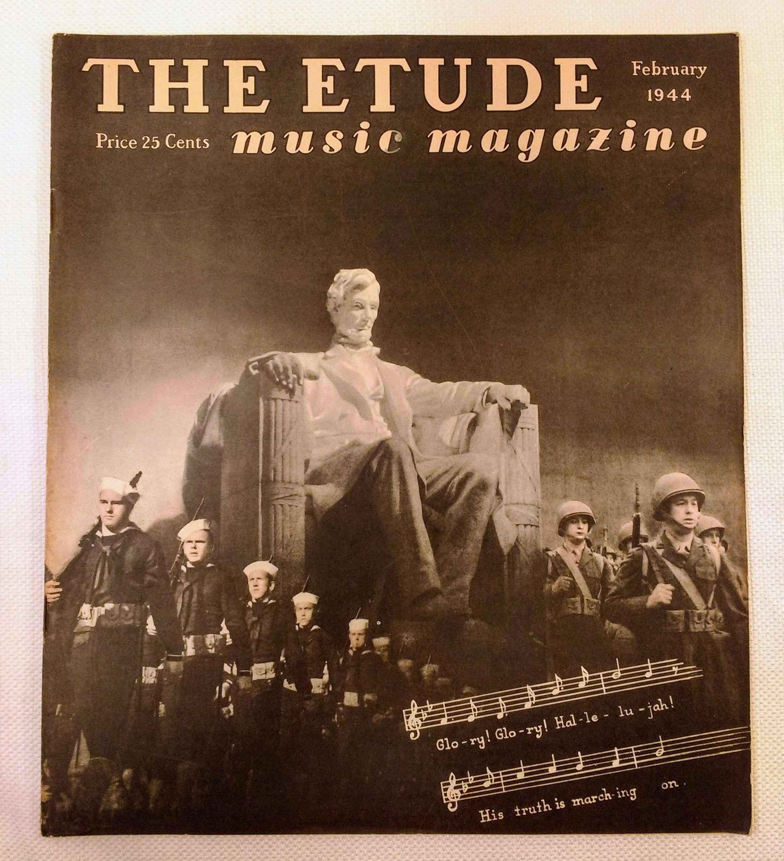 Image for The Etude Music Magazine: Volume LXII, No. 2; February, 1944