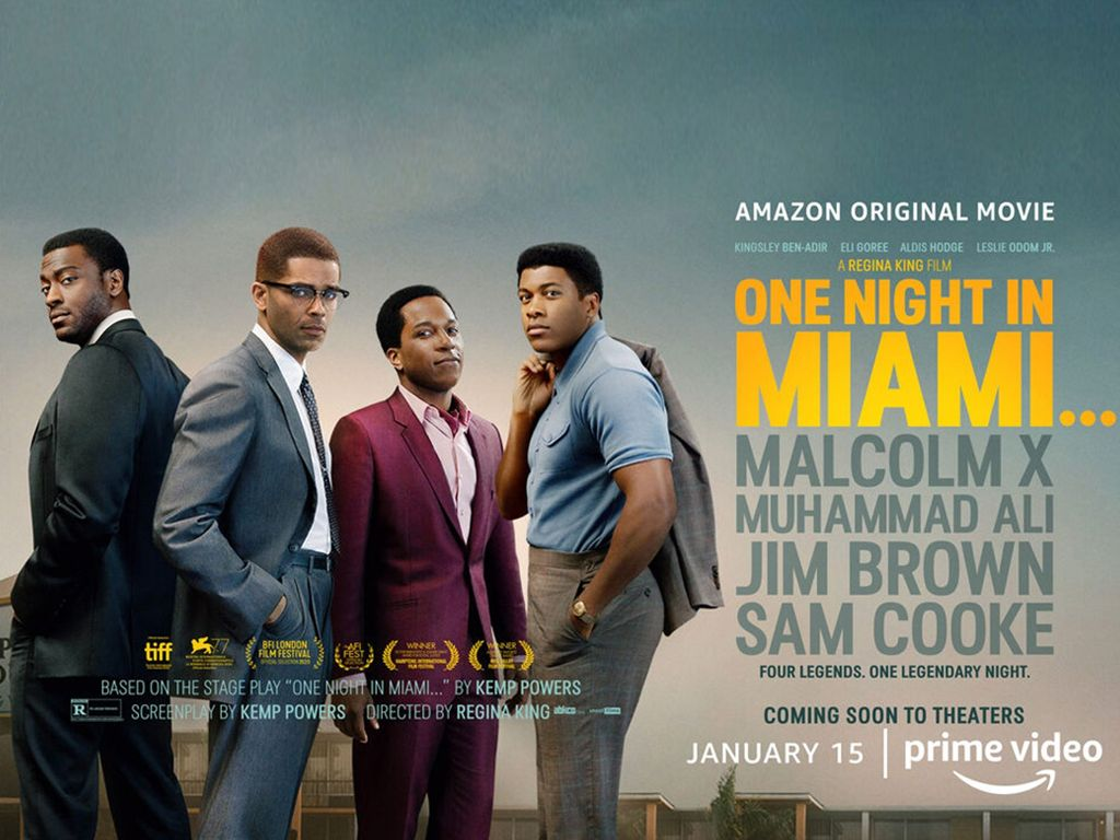 One Night in Miami... Poster Πόστερ Wallpaper