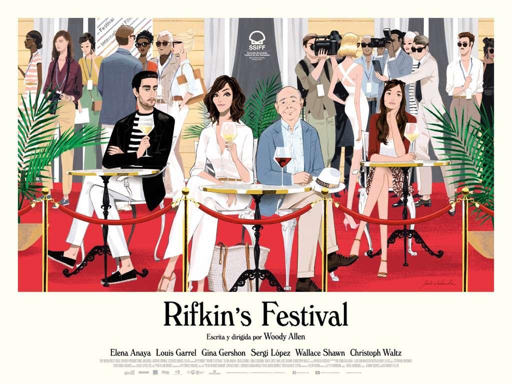 Το Φεστιβάλ Του Ρίφκιν (Rifkin's Festival) Poster Πόστερ Wallpaper