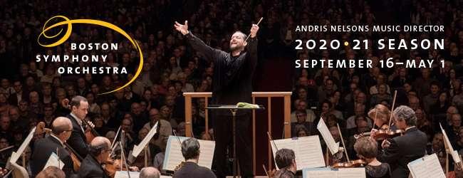 [Boston Symphony Orchestra header]