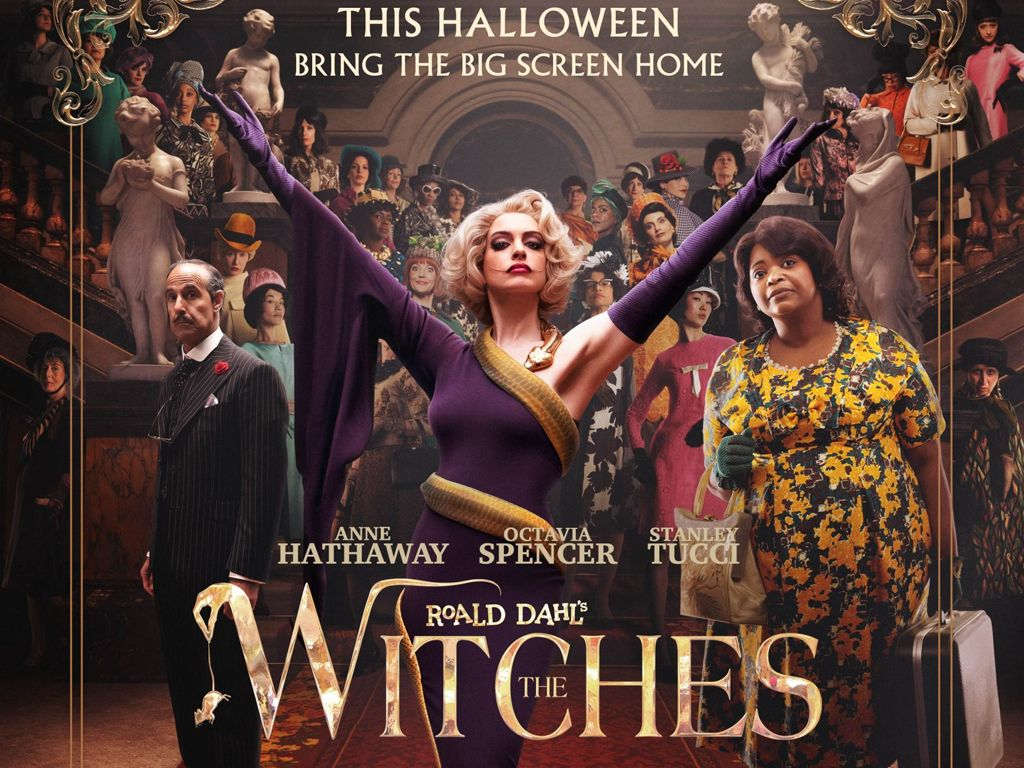 Roald Dahl's The Witches Quad Poster