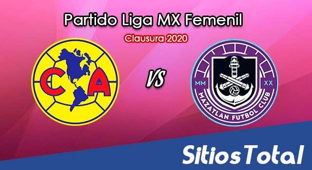 Ver América vs Mazatlán FC en Vivo – Liga MX Femenil – Guardianes – Sábado 26 de Septiembre del 2020