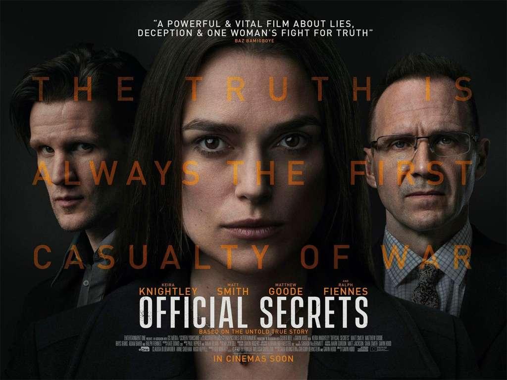Κρατικά Μυστικά (Official Secrets) - Trailer / Τρέιλερ Movie