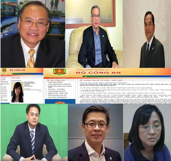 Nhận diện các đối tượng uỷ viên trung ương của tổ chức khủng bố Việt Tân