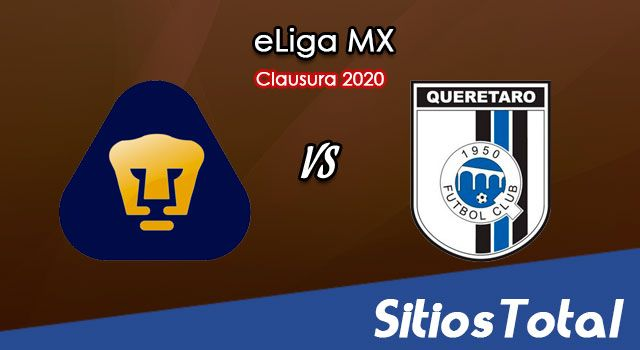 Pumas vs Querétaro en Vivo – eLiga MX – Domingo 7 de Junio del 2020