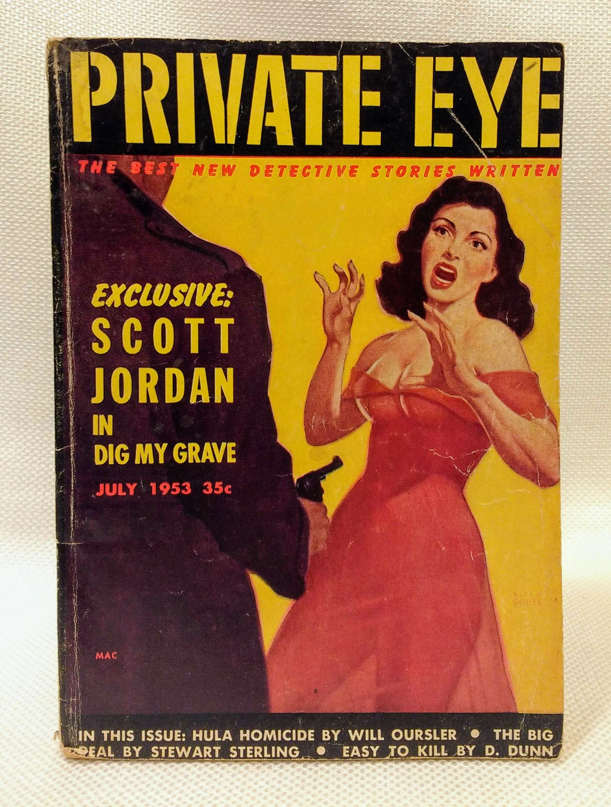 Image for Private Eye Magazine; Vol. 1, No. 1 (July 1953)