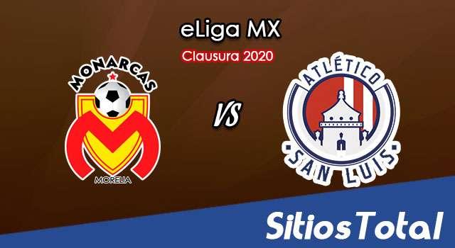 Monarcas Morelia vs Atlético San Luis en Vivo – eLiga MX – Viernes 15 de Mayo del 2020