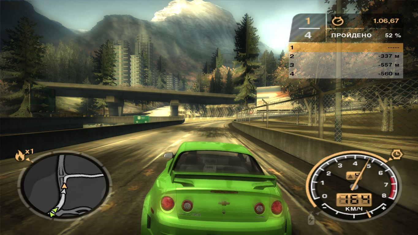 Скачать Need for Speed Most Wanted 2005 Black Edition PC торрент
