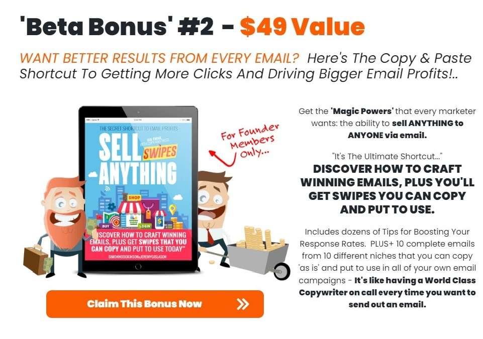 Page Dyno Review - Vendor Bonus 2 - Sell Anything Swipes