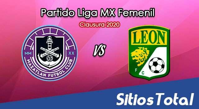 Ver Mazatlán FC vs León en Vivo – Liga MX Femenil – Guardianes – Lunes 5 de Octubre del 2020
