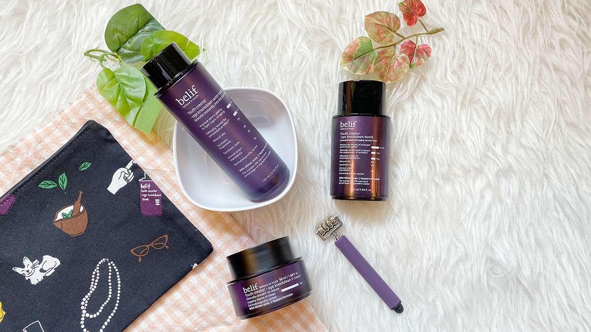belif Age Knockdown Anti-Aging Skincare Review Singapore