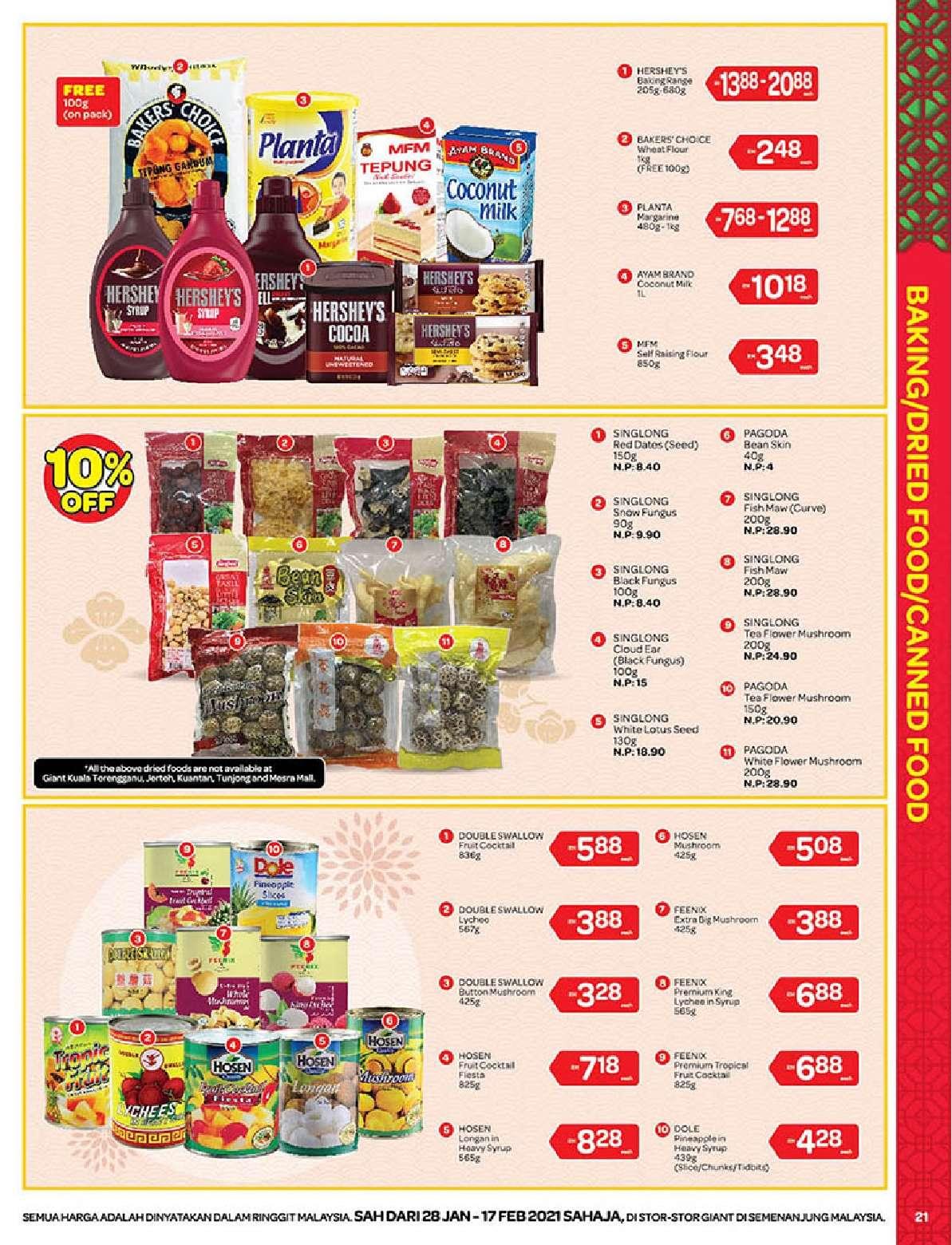 Giant Catalogue (28 January – 17 February 2021)
