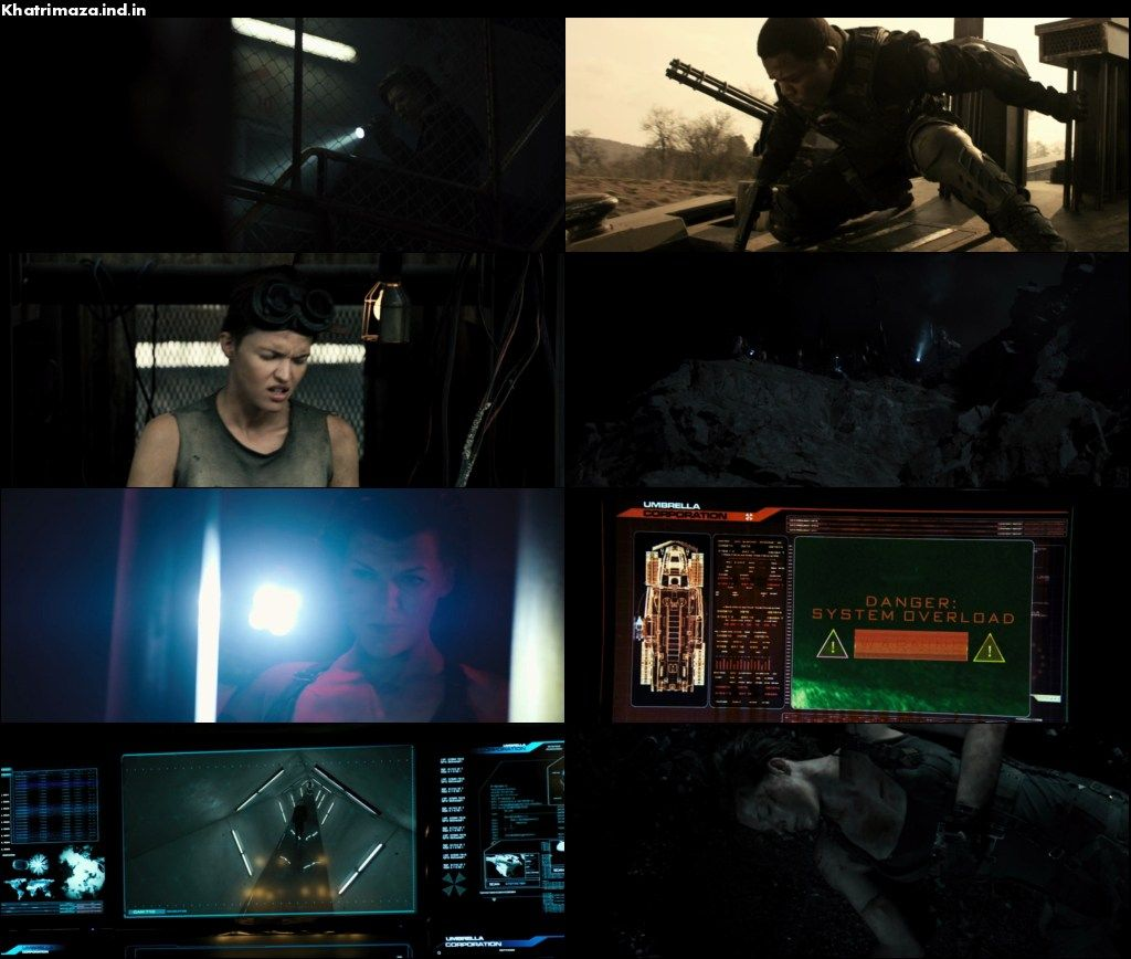 Resident Evil The Final Chapter 2016 Dual Audio Movie Download Screenshot