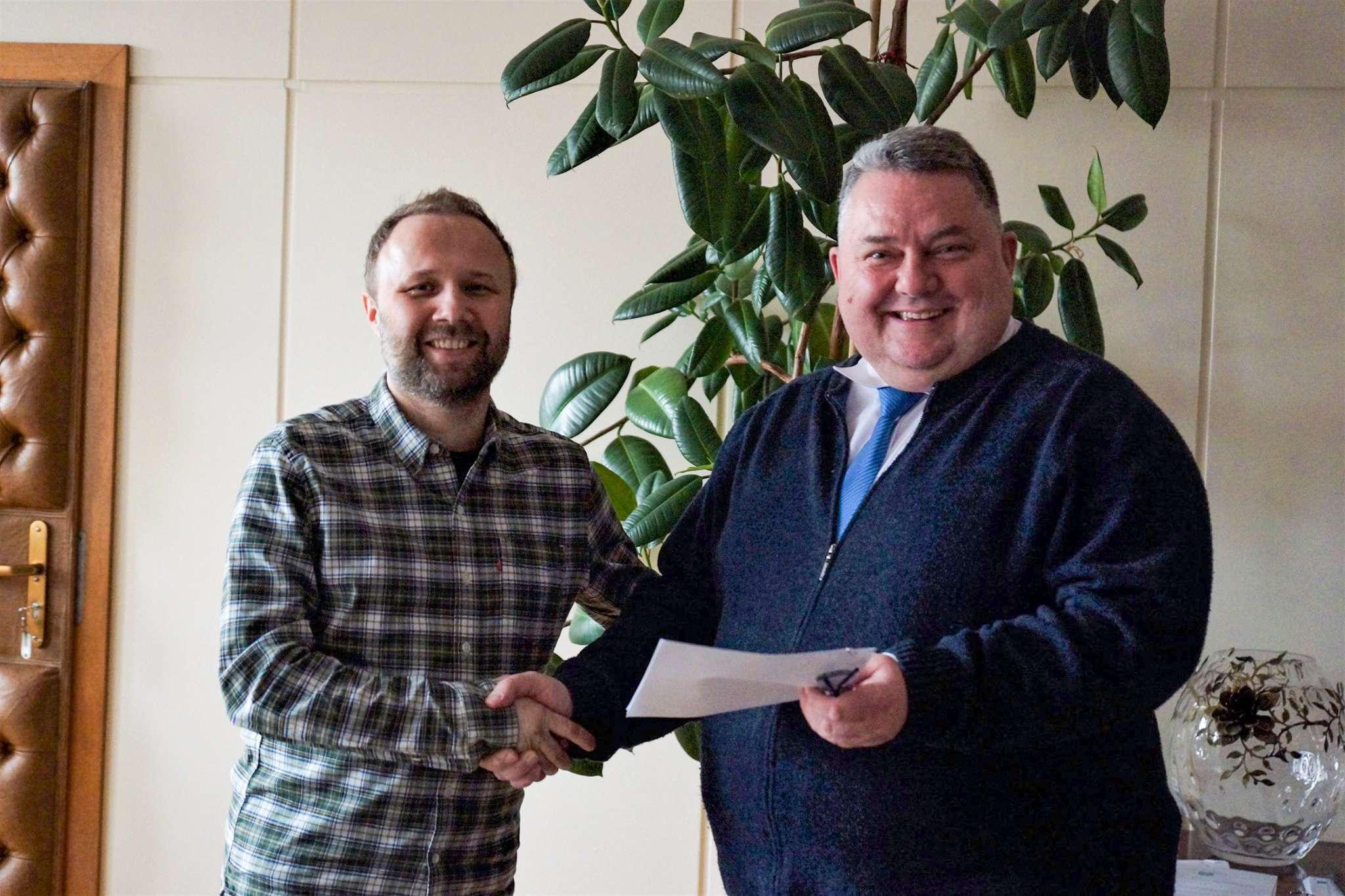 Red Dragons podpisało zGminą umowę nakolejny rok
