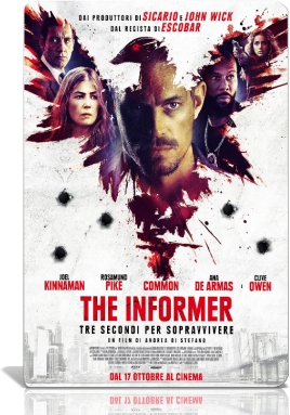 The Informer - Tre Secondi Per Sopravvivere (2019).avi MD MP3 CAM V2 - iTA
