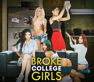 Оттраханные Девочки Из Колледжа | Broke College Girls