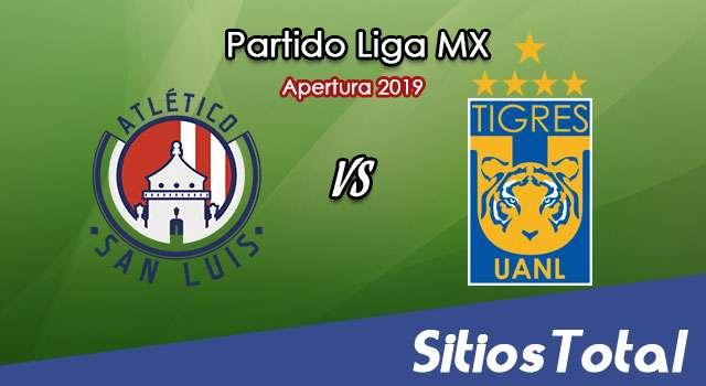 Ver Atlético San Luis vs Tigres en Vivo – Apertura 2019 de la Liga MX