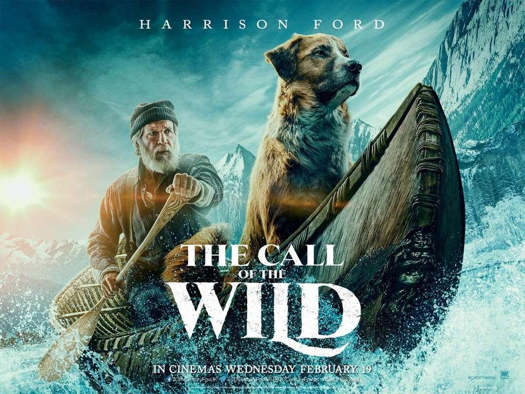 Το Κάλεσμα της Άγριας Φύσης (The Call of the Wild) Quad Poster