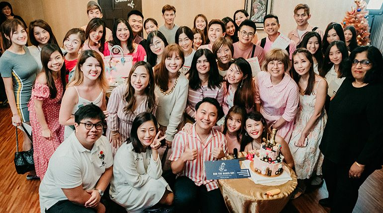 MyFatPocket Celebrated Our 10th Anniversary with a Pink and White Party
