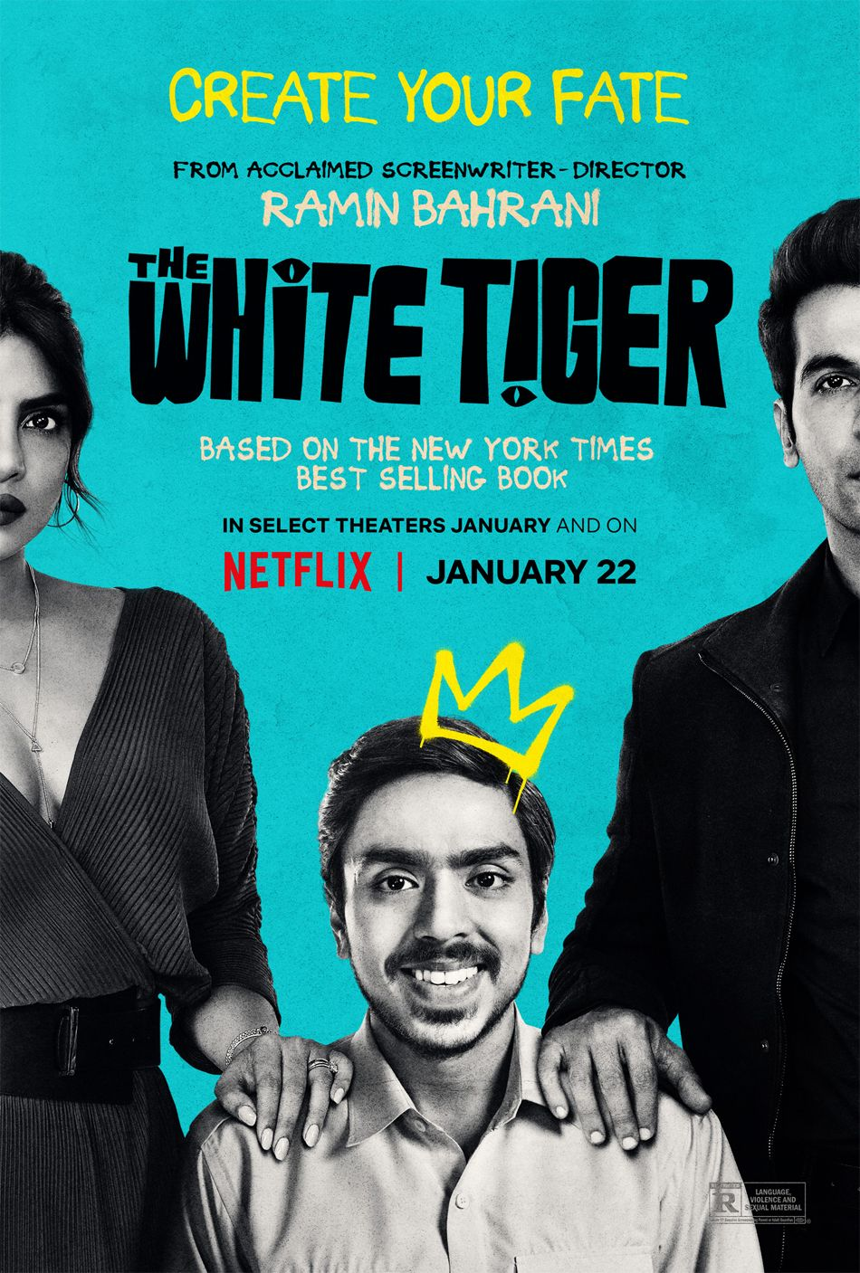 The White Tiger Poster Πόστερ