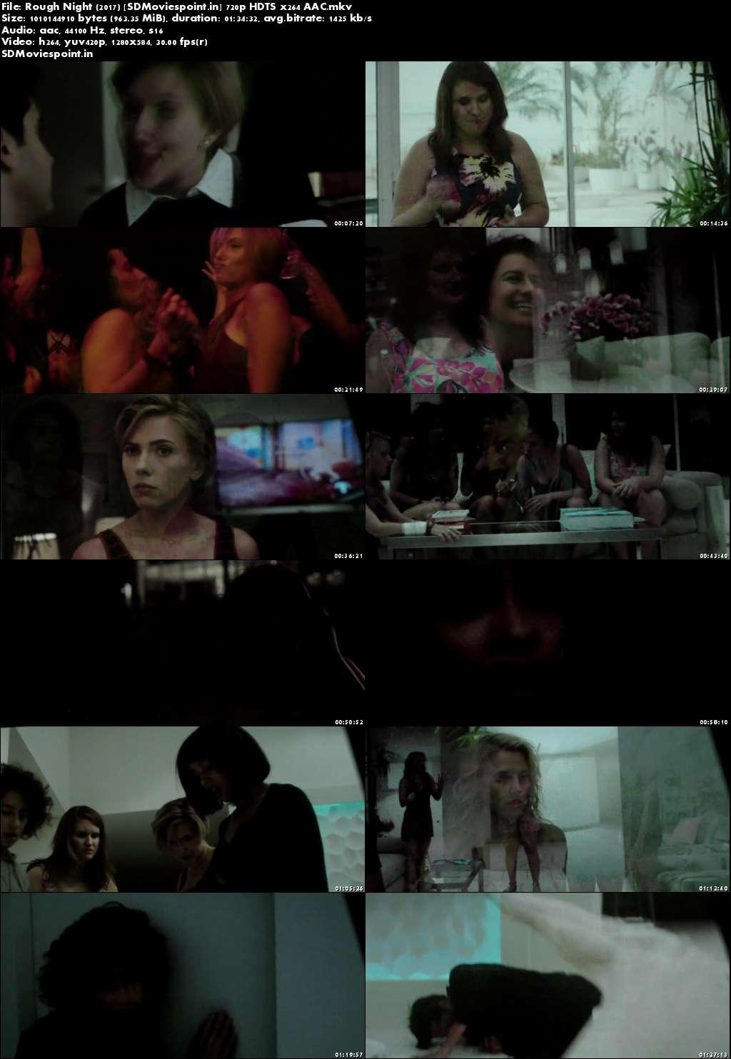 Screen Shot Rough Night 2017 Full English Movie Download 720p