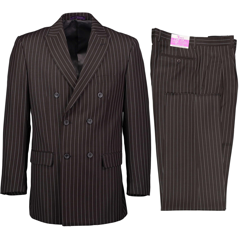 Men Renoir Suit Super 140s Soft Wool 2Button Side Vent Classic Fit 508 Black New