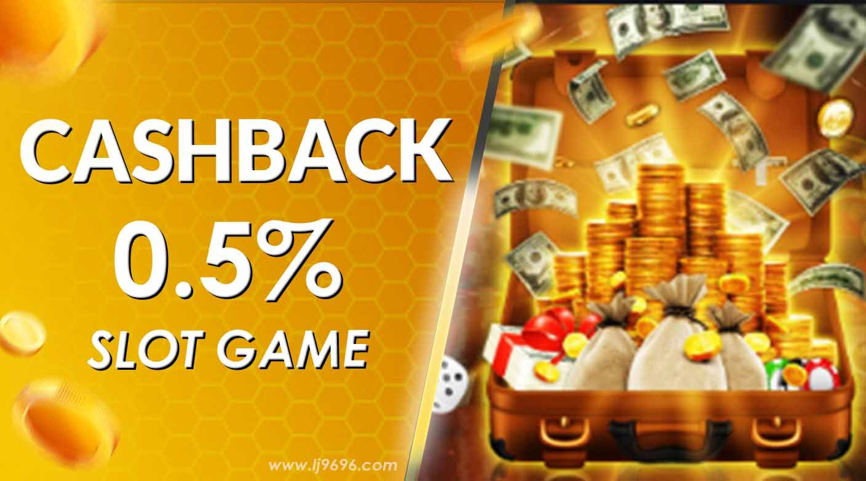 Cashback Slots Games