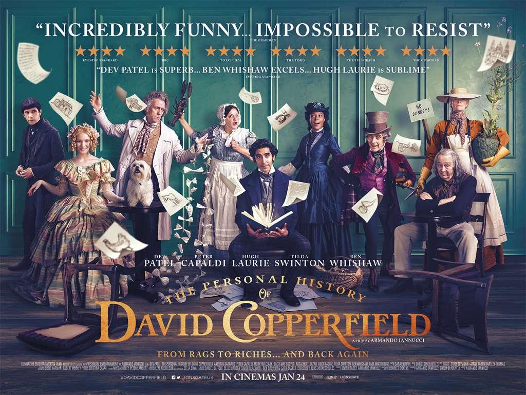 Ο Διαφορετικός Κύριος Κόπερφιλντ (The Personal History Of David Copperfield) Quad Poster