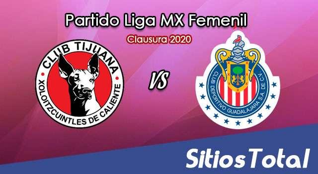 Ver Xolos Tijuana vs Chivas en Vivo – Liga MX Femenil – Clausura 2020 – Lunes 17 de Febrero del 2020