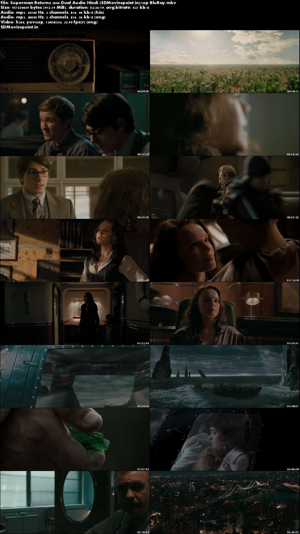 Screen Shots Superman Returns (2006) Full HD Movie Download Hindi Dubbed 720p