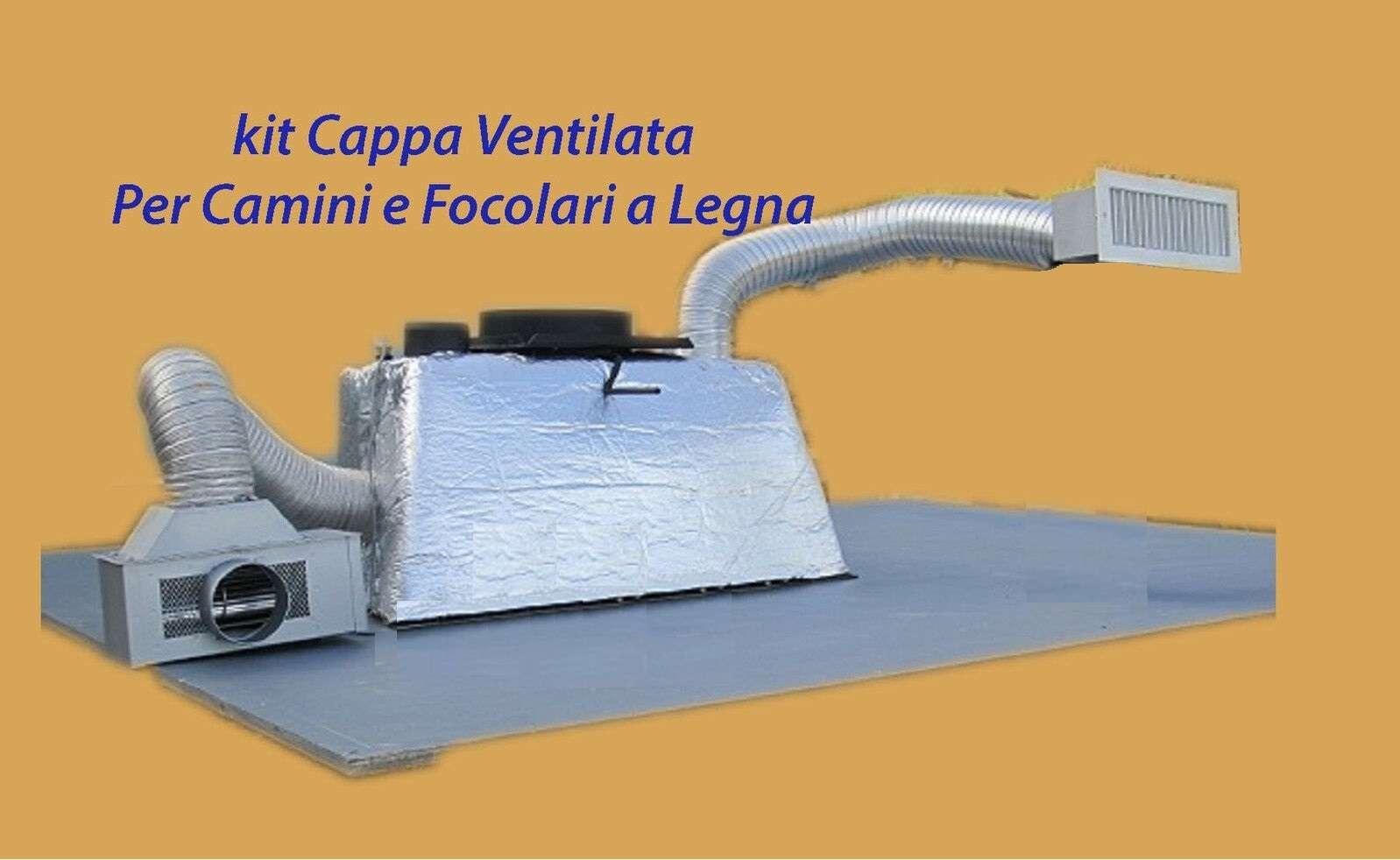 Dettagli Su Cappa Camino Termo Ventilata Per Recupero Calore Camini E Focolari Promozione