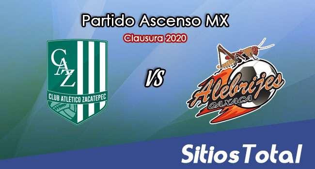 Ver Atlético Zacatepec vs Alebrijes de Oaxaca en Vivo – Ascenso MX en su Torneo de Clausura 2020