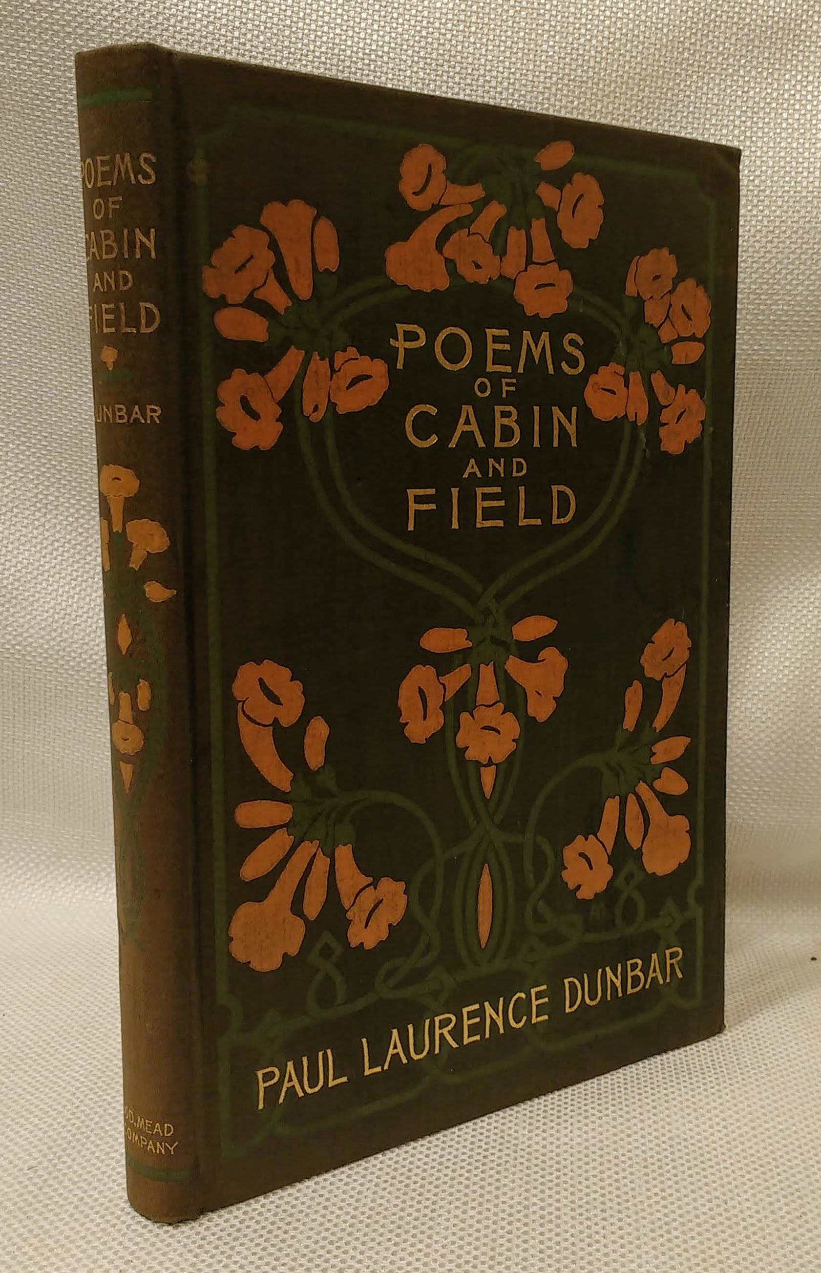 Poems of Cabin and Field, [Morse, Alice].  Dunbar, Paul Laurence [1872 - 1906].
