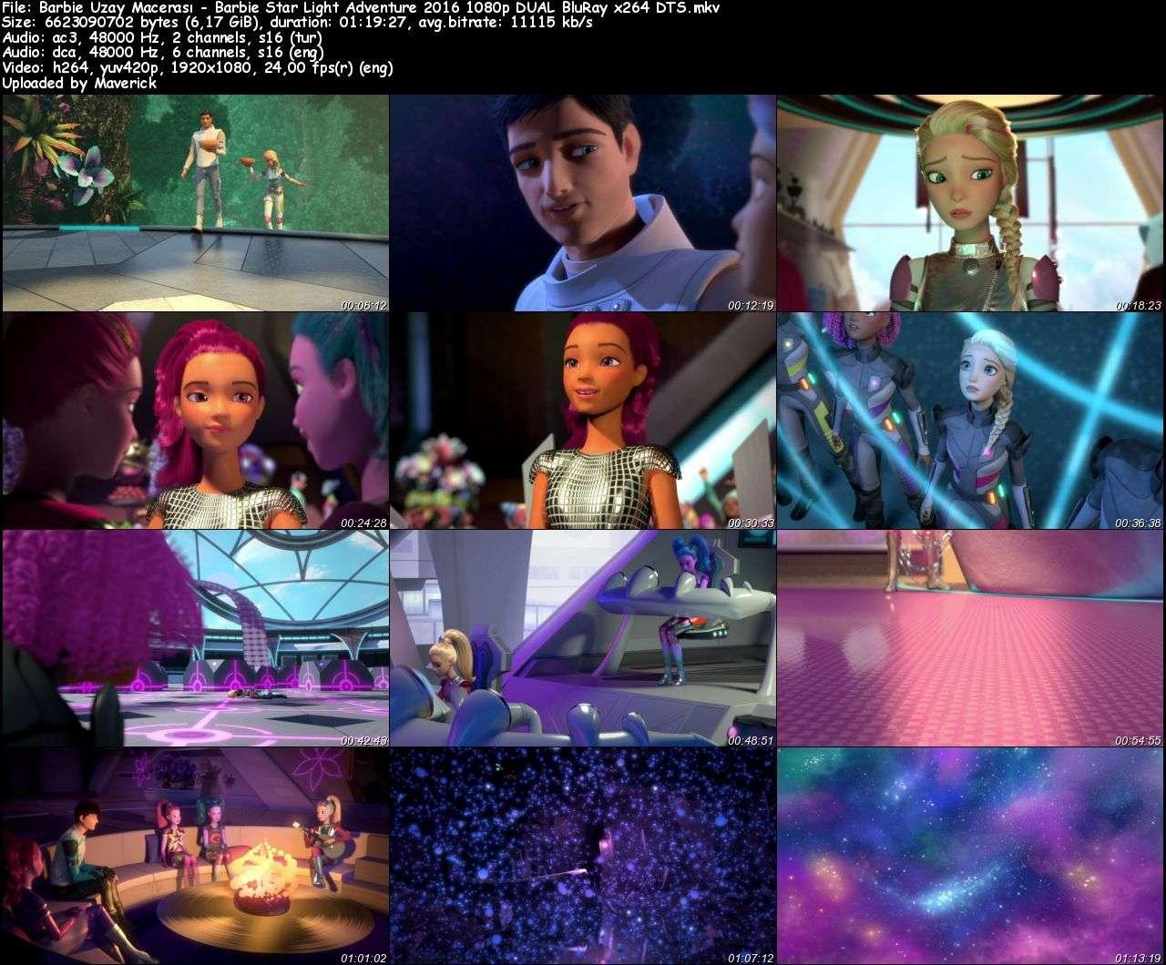 Barbie Uzay Macerası - 2016 BluRay 1080p DuaL MKV indir