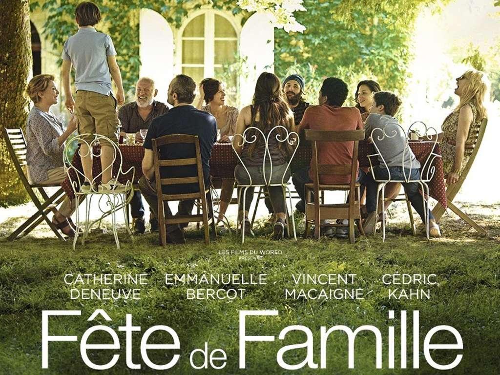 Μάντεψε Ποιος Ήρθε για τα Γενέθλια σου (Fête De Famille) Quad Poster
