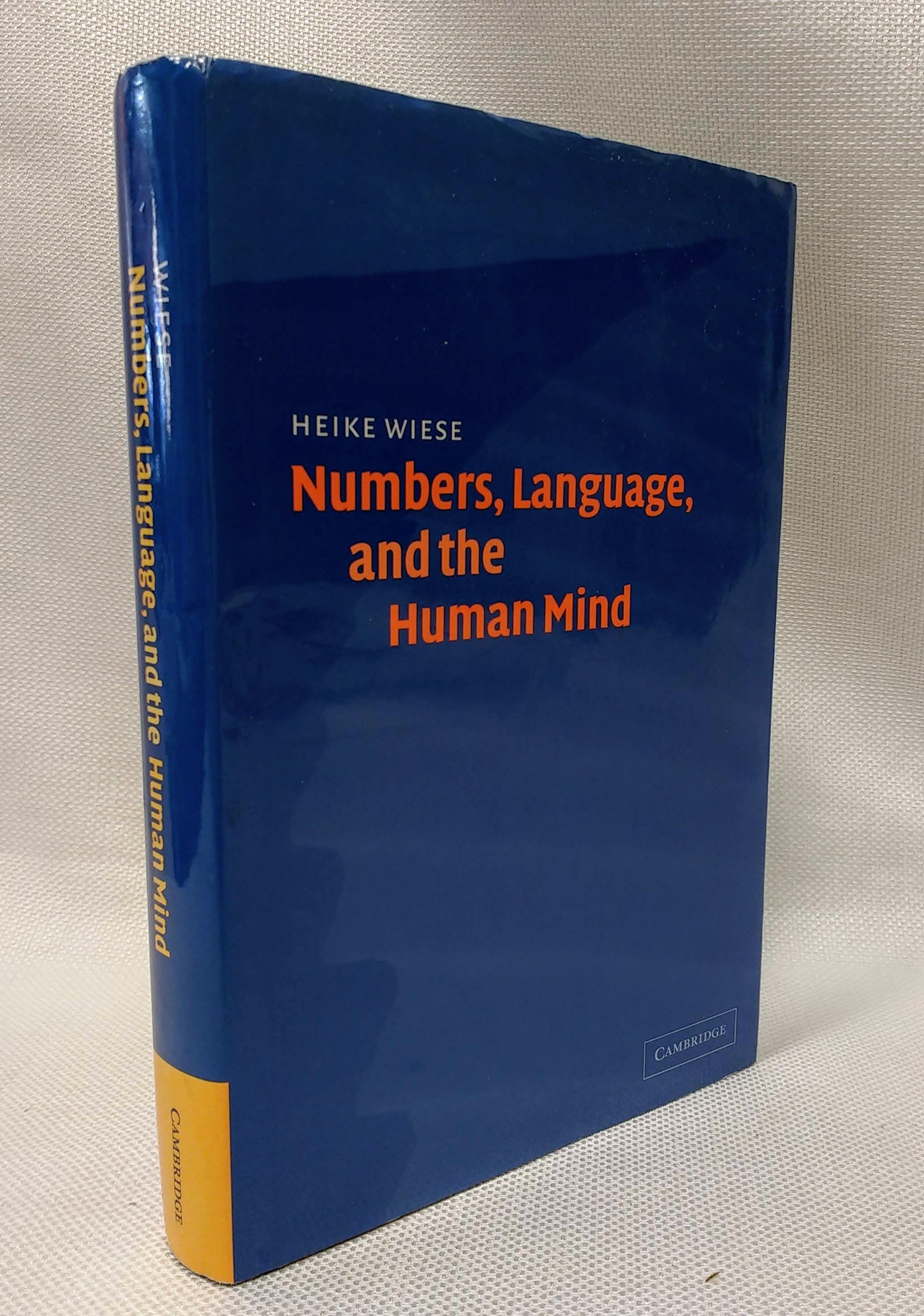 Numbers, Language, and the Human Mind, Wiese, Heike