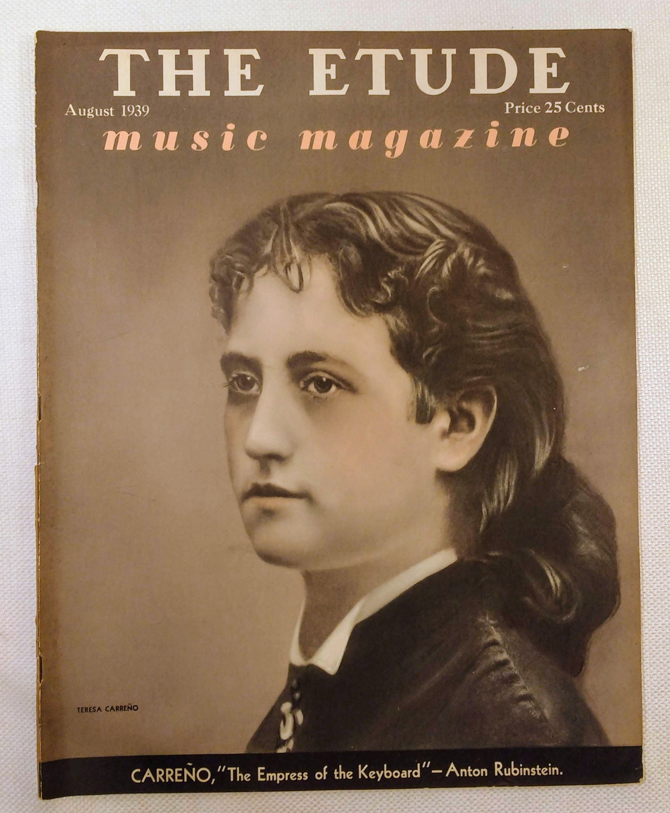 Image for The Etude Music Magazine: Volume LVII, No. 8; August, 1939