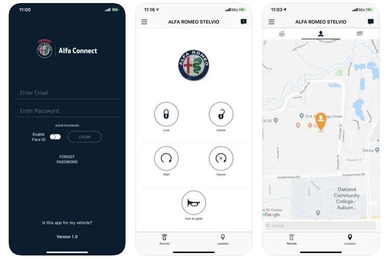 Alfa Connect App