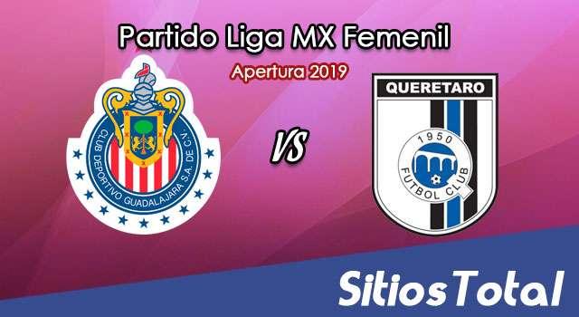 Ver Chivas vs Querétaro en Vivo – Liga MX Femenil – Apertura 2019 – Jueves 19 de Septiembre del 2019