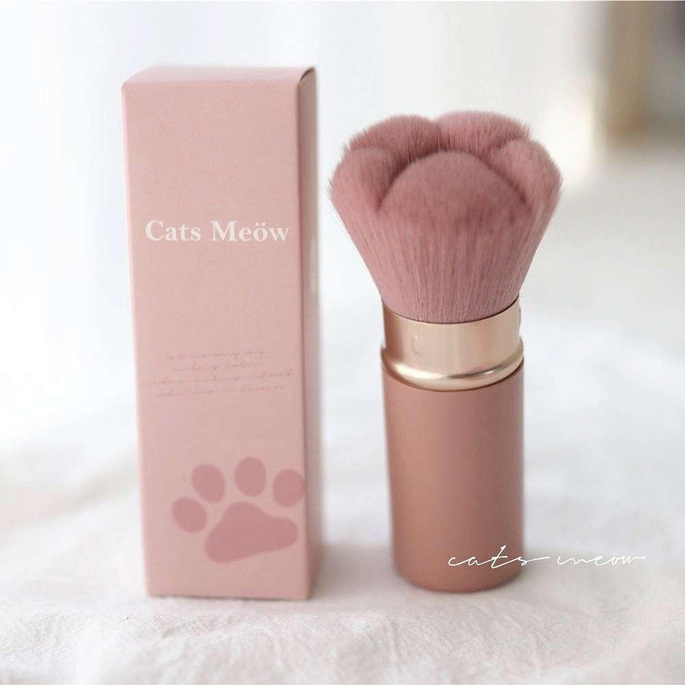 Cute Cat Paw Makeup Brush