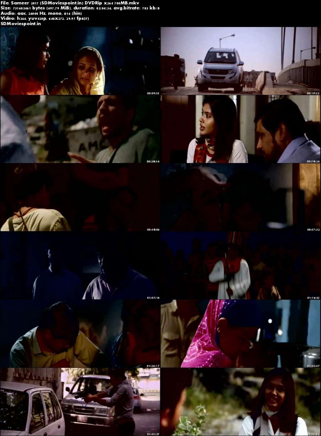 Screen Shots Sameer (2017) Full Hindi Movie Download Free 720p