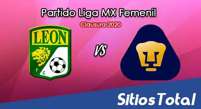 Ver León vs Pumas en Vivo – Liga MX Femenil – Guardianes – Jueves 19 de Noviembre del 2020