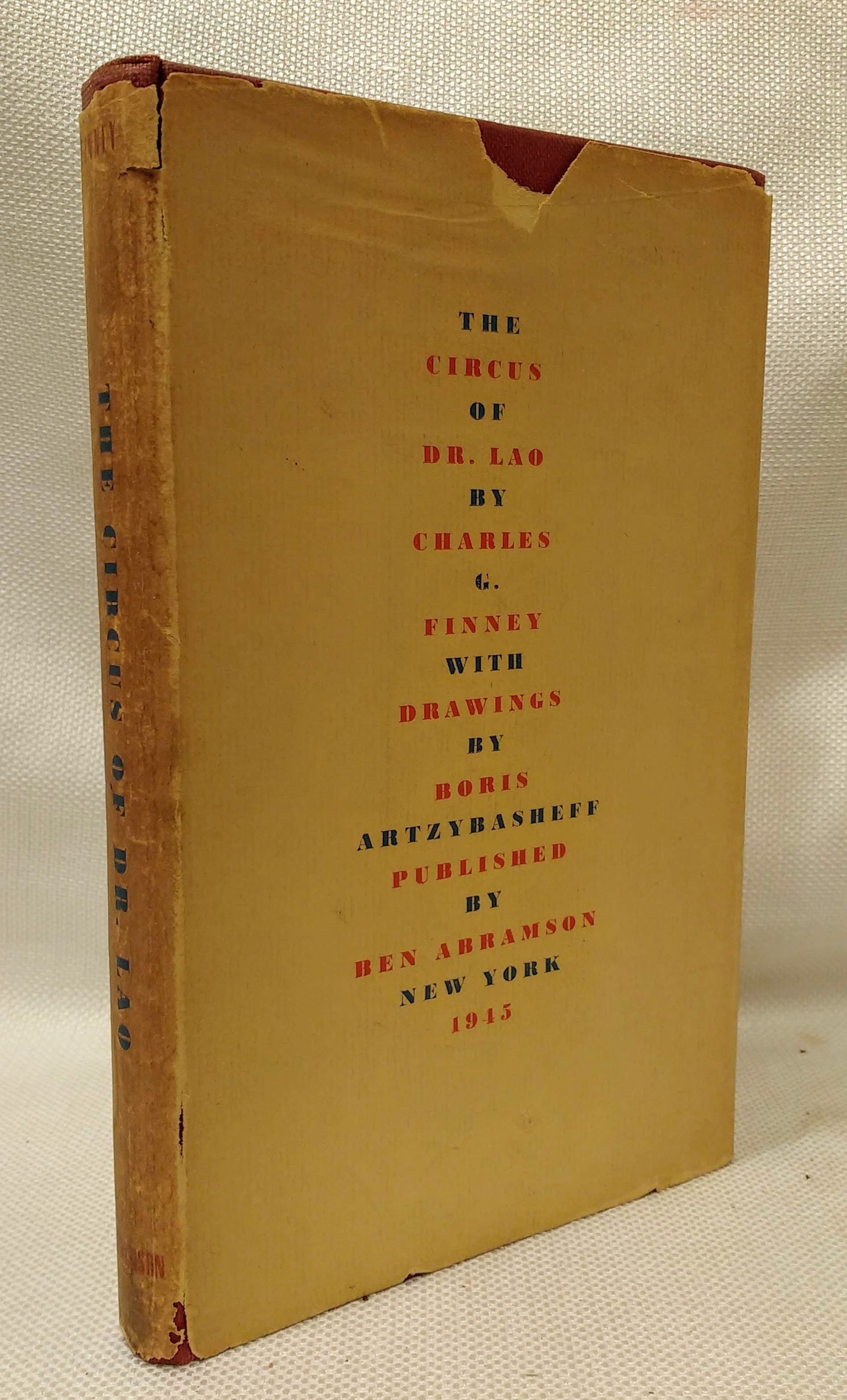 The Circus of Dr. Lao, Finney, Charles G.