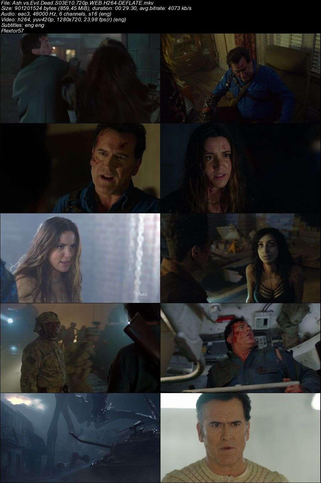 Ash vs Evil Dead 3.sezon tum bolumler