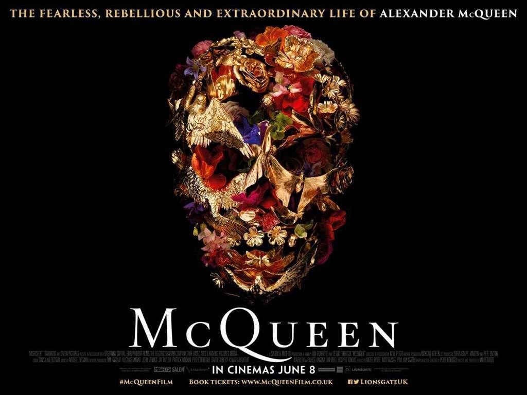 McQueen Quad Poster